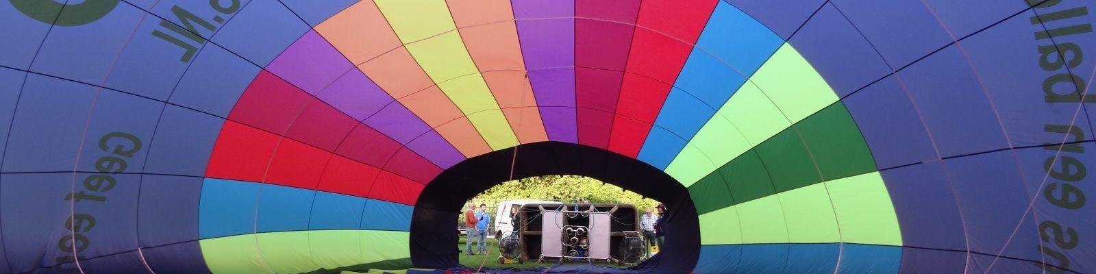 Het ballonvaartseizoen is gestart!